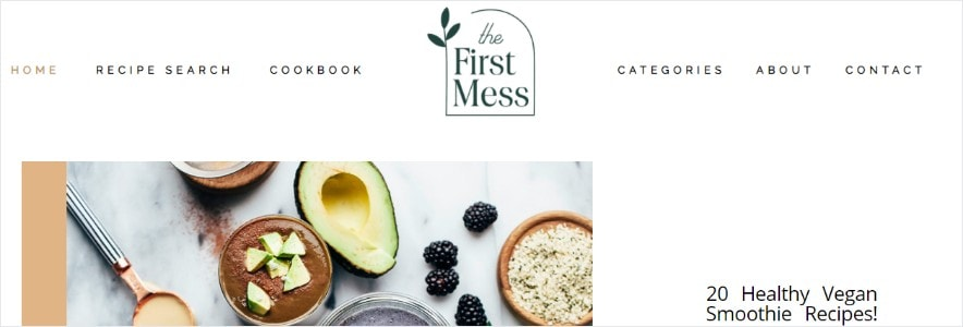 the first mess blog