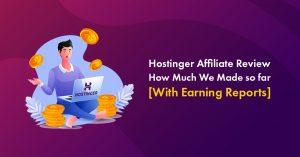 hostinger affiliate