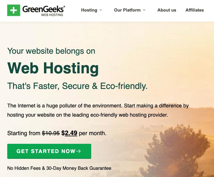greengeeks home