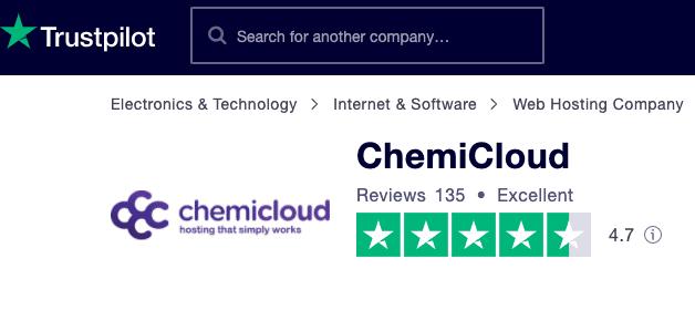 trustpilot chemicloud