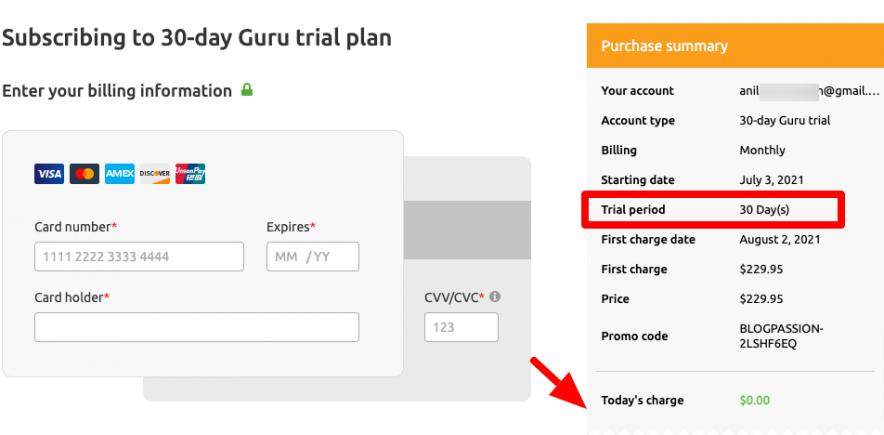 guru coupon