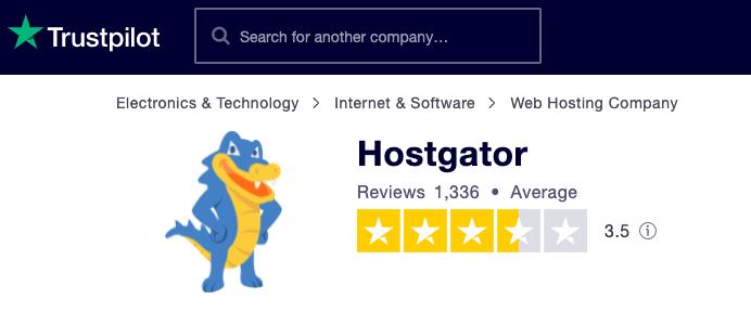 hostgator ratings