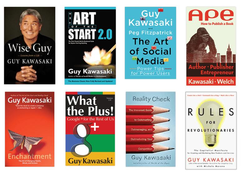 guy kawasaki books