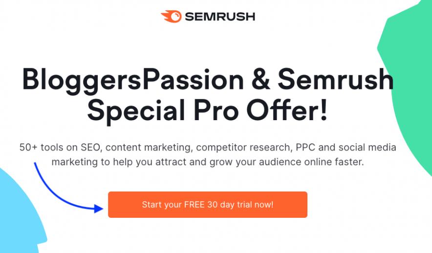 semrush offer