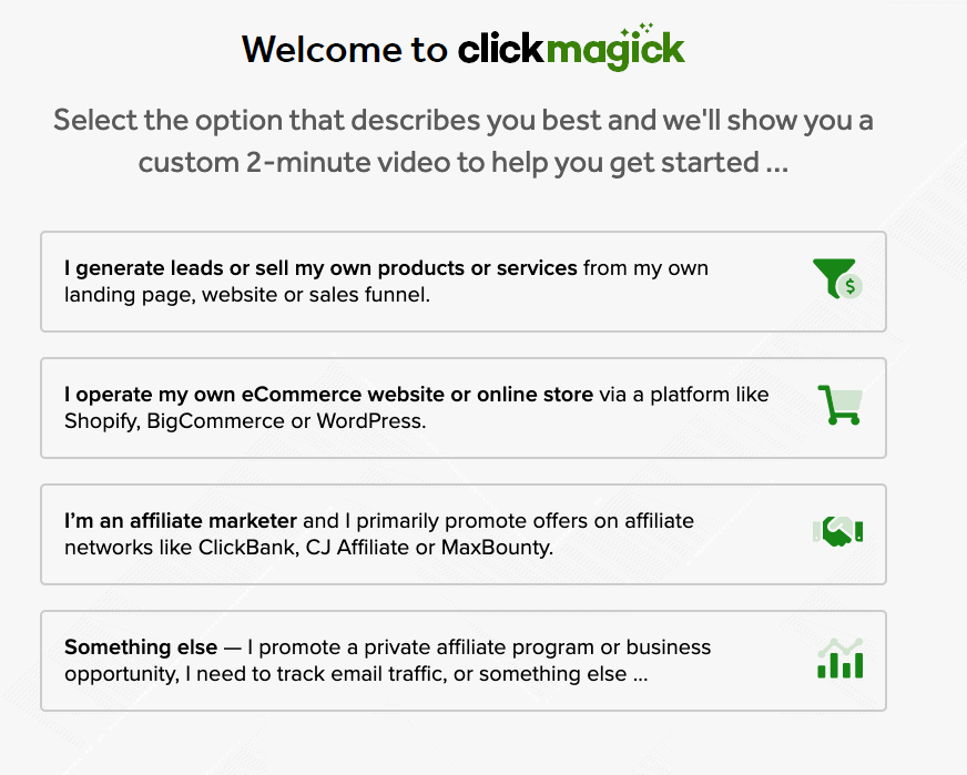 clickmagick campaigns